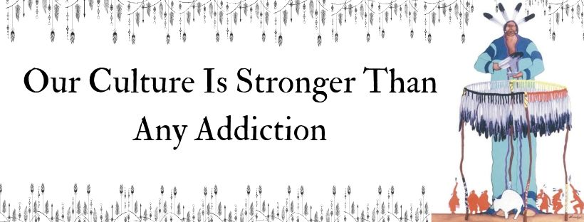 Our Culture is Stronger Than Addiction Bumper Sticker
